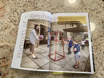 Resilience of OLV Preschool Teachers Highlighted in Local Magazine