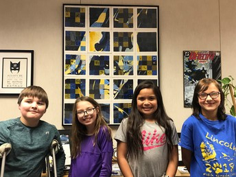 Lincoln Elementary Students & Batman