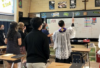 CLASSROOM BLESSING HELD THIS WEEK