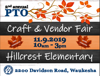 PTO Craft and Vendor Fair: