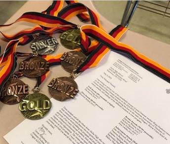 Warrior Students of German Win