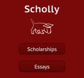 Scholly Scholarship App