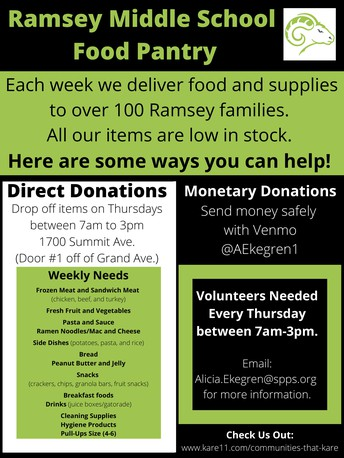 Ramsey Food Pantry: