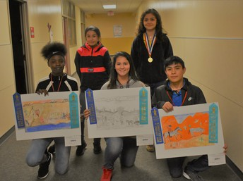 Rodeo Art Competitors win Awards