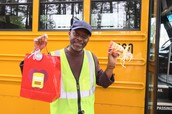 PUE Shared the Love with WCPSS Bus Drivers