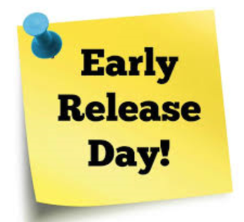 November 22- Early Release Day!