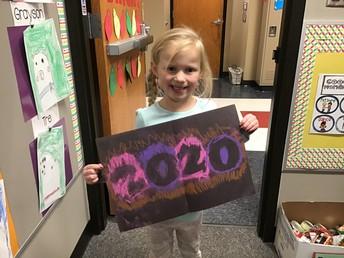 Chloe's artwork for 2020.