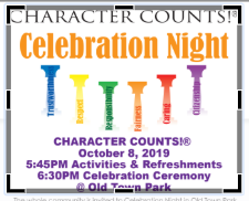 Character Counts! Celebration Night