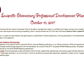 October 10th Campus Professional Development
