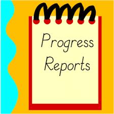 Fri 2/8--3rd Quarter Progress Reports