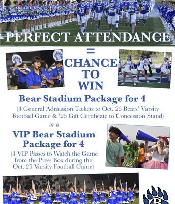 Perfect Attendance Challenge!