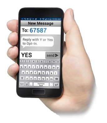 Opt-In to Text Messages