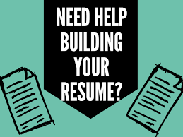 College and Career Advising:  Resume Workshop