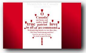 "Let's Make an ""O Canada"" video!"