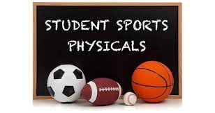 6th Grade Physicals for Middle School for 2021-2022 School Year