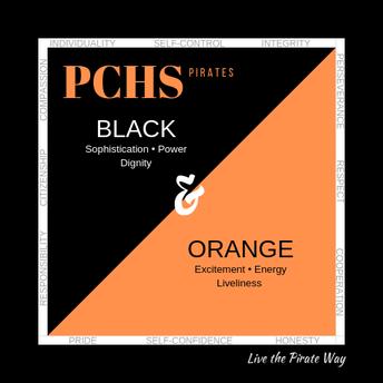 Go Black and Orange!