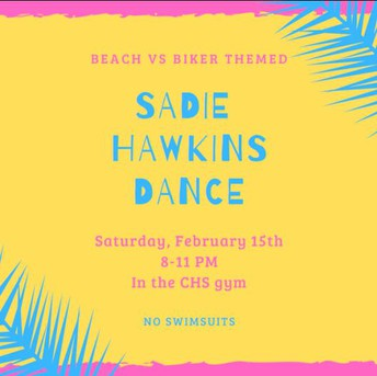 3rd annual Sadie Hawkins Dance
