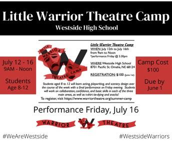 Little Warrior Theater Camp