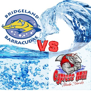 Bridgeland Barracudas vs. Cy-Mills Makos