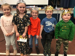 Pre-K, K, and 1st Kings and Queens