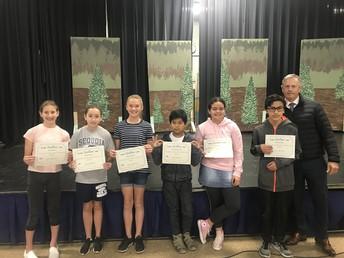 6th Grade Core Awards - Mr. Lomax