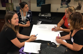 Mentors Aly Martinez & Michelle Godfrey lead Math & Science