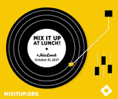 Volunteer needed for National Mix It Up Day (Tuesday, October 31)