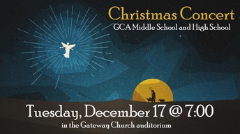 Secondary School Christmas Concert