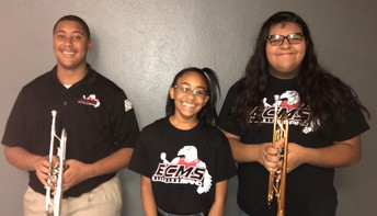 Three ECMS Students Selected for All-Region Band