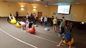 Circuit training in PE