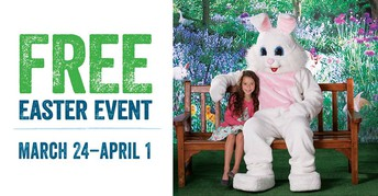 BASS PRO SHOP FREE EASTER EVENT 24 MARCH TO 1 APRIL