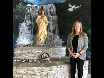 Welcome to our new Assistant Principal, Mrs. Cathy Hinger!