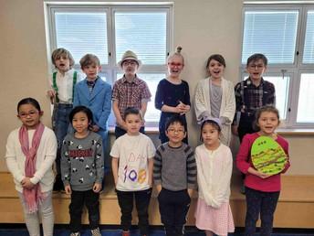 2L is celebrating 100 days of school!