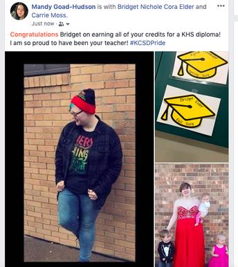 Panther Success Graduate