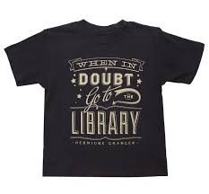 Wear a shirt with words on it!
