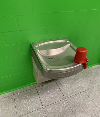 Water Fountains Closed Locked