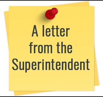 Superintendent's Friday Letter