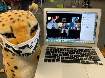 Lennie was Spotted in Mrs. Hawkins and Ms. Cachimuel 4th grade class!