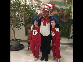The Cat in the Hat was loose in the School!