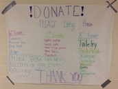 NJHS Seeking Donations for Care Packages