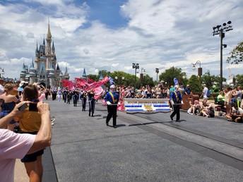 BC Band & Choir Perform at Disney World