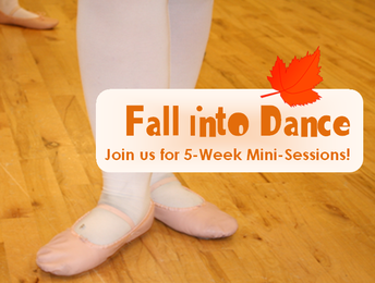 Check out our Fall 5-Week Mini Sessions!