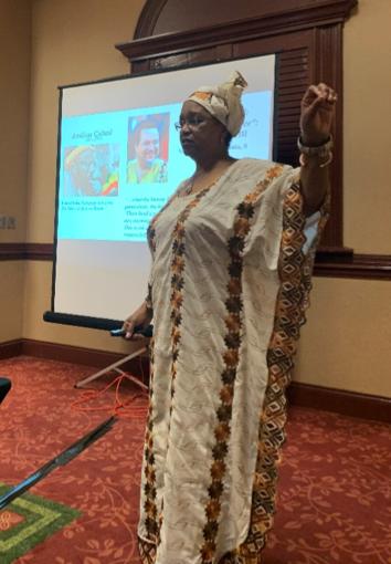 "Dr. Joyce King, renowned scholar who coined ""Diaspora Literacy"" in 1992, presents exemplars on African Diaspora Literacy"