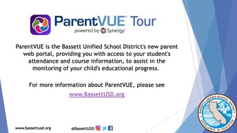 ParentVUE- New Parent Portal/ ParentVUE- Portal para padres