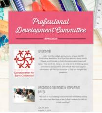 Professional Development Committee