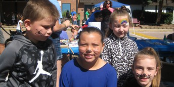 Face Painting is always a hit!