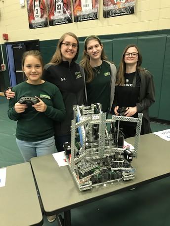 Gators of the Week: Gators first all Female Women's Robotics Team Debuts