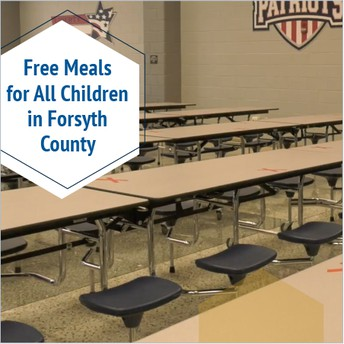 Free Meals for ALL Children in Forsyth County!