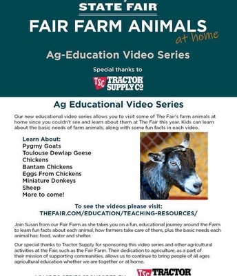 Agriculture Education Video Series - Check it out!