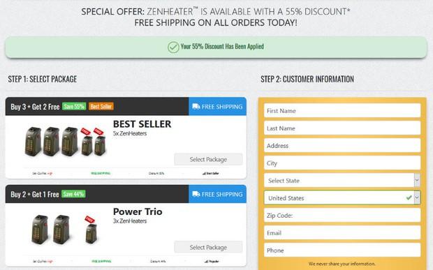 buy Zen Heater